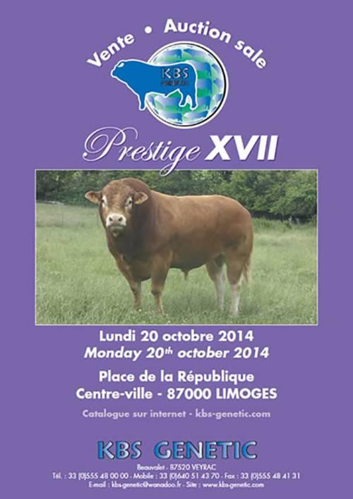 PRESTIGE XVII Sale, Monday 20th of October