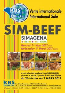 SIM BEEF SALE - SIMAGENA Paris March 2017