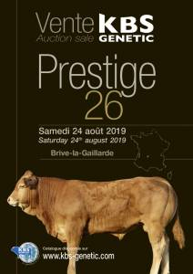 PRESTIGE 26 Auction Sale at Brive, France - Saturday 24th of August 2019