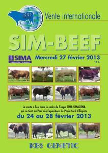 SIM BEEF Sale at Paris Show