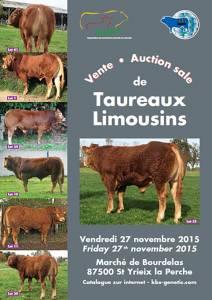 Vente Taureaux Limousins